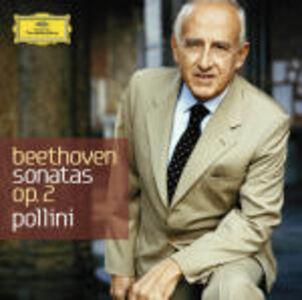 CD Sonate per pianoforte op.2 n.1, n.2, n.3 di Ludwig van Beethoven