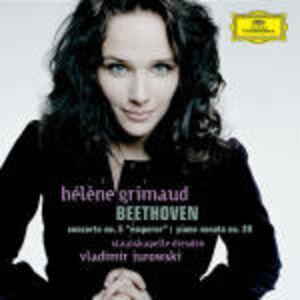 CD Concerto per pianoforte n.5 - Sonata per pianoforte n.28 di Ludwig van Beethoven