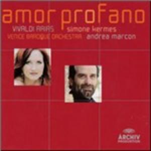 CD Amor Profano di Antonio Vivaldi