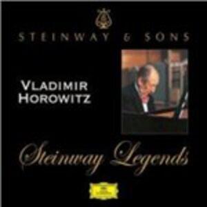 Foto Cover di Steinway Legends, CD di Vladimir Horowitz, prodotto da Deutsche Grammophon