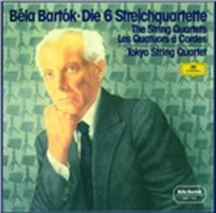 CD Quartetti per archi di Bela Bartok