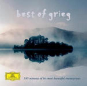 CD Best of Grieg di Edvard Grieg