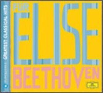 CD Per Elisa - Sonate per pianoforte n.8, n.14 - Rondò op.129 / Träumerei - Impromptu D899 - Vogel als Prophet Ludwig van Beethoven , Franz Schubert