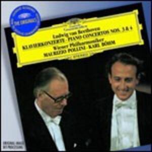 Concerti per pianoforte n.3, n.4 - CD Audio di Ludwig van Beethoven,Maurizio Pollini,Karl Böhm,Wiener Philharmoniker