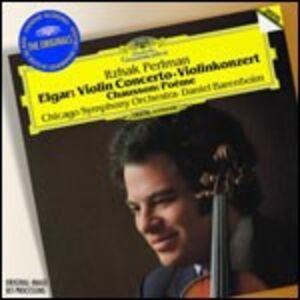 CD Concerto per violino / Poème Edward Elgar , Ernest Chausson