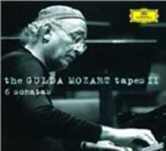 CD The Gulda Mozart Tapes II. Sonate K331, K284, K310, K457, K570, K576 di Wolfgang Amadeus Mozart