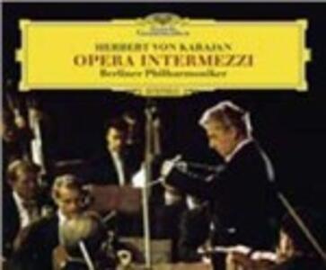 Opera Intermezzi - CD Audio di Herbert Von Karajan,Berliner Philharmoniker
