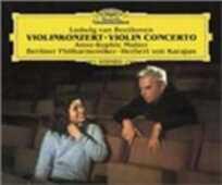 CD Concerto per violino Ludwig van Beethoven Herbert Von Karajan Anne-Sophie Mutter