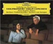 Concerto per violino - CD Audio di Ludwig van Beethoven,Herbert Von Karajan,Anne-Sophie Mutter,Berliner Philharmoniker