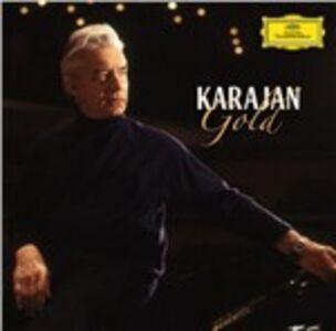 Foto Cover di Karajan Gold, CD di Herbert Von Karajan, prodotto da Deutsche Grammophon