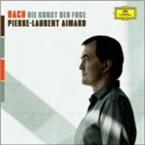 Foto Cover di L'arte della fuga (Die Kunst der Fugue), CD di Johann Sebastian Bach,Pierre-Laurent Aimard, prodotto da Deutsche Grammophon