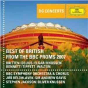 CD Best of British from the 2007 BBC Proms