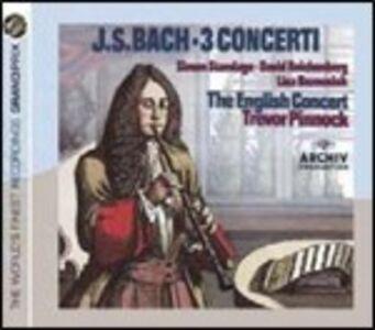 CD 3 Concerti di Johann Sebastian Bach