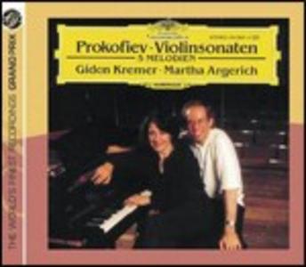 CD Sonate per violino di Sergei Sergeevic Prokofiev