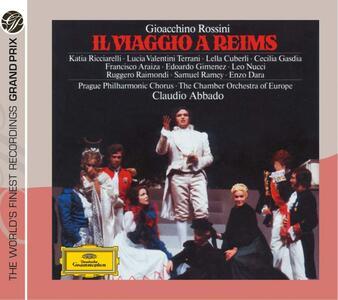 Il viaggio a Reims - CD Audio di Gioachino Rossini,Claudio Abbado,Lucia Valentini Terrani,Samuel Ramey,Cecilia Gasdia,Chamber Orchestra of Europe