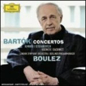 Concerti - CD Audio di Pierre Boulez,Bela Bartok,Yuri Bashmet,Tamara Stefanovich,Berliner Philharmoniker,London Symphony Orchestra,Pierre-Laurent Aimard