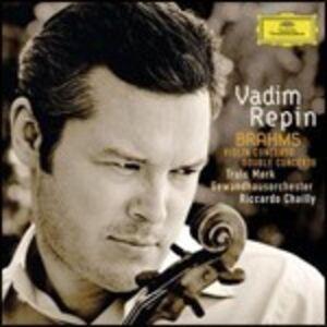 CD Concerto per violino - Concerto doppio di Johannes Brahms