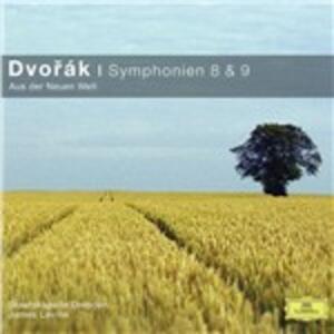 Sinfonie n.8, n.9 - CD Audio di Antonin Dvorak