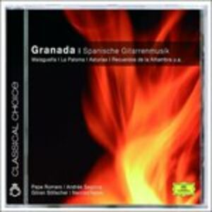 CD Granada. Spanish Guitarmus