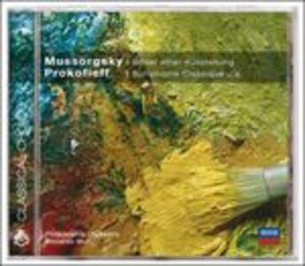 Foto Cover di Quadri di un'esposizione / Sinfonia classica n.1, CD di AA.VV prodotto da Deutsche Grammophon