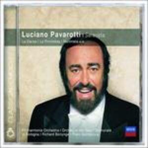 Foto Cover di Serenata, CD di Luciano Pavarotti, prodotto da Deutsche Grammophon