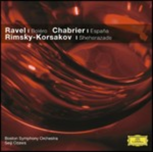 CD Musica orchestrale di Maurice Ravel