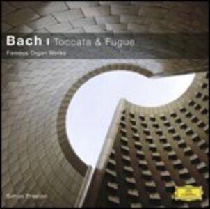 CD Toccata e Fuga. Musica per organo di Johann Sebastian Bach