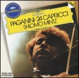 CD 24 Capricci op.1 di Niccolò Paganini