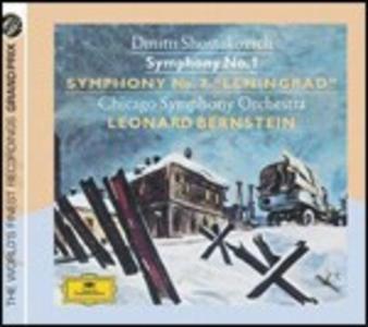 CD Sinfonie n.1, n.7 di Dmitri Shostakovich