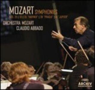 CD Sinfonie n.29, n.33, n.35, n.38, n.41 di Wolfgang Amadeus Mozart