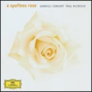 CD A Spotless Rose