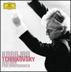 Sinfonie complete - CD Audio di Pyotr Il'yich Tchaikovsky,Herbert Von Karajan,Berliner Philharmoniker