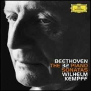 Sonate per pianoforte complete - CD Audio di Ludwig van Beethoven,Wilhelm Kempff