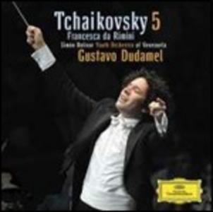 CD Sinfonia n.5 - Francesca da Rimini di Pyotr Il'yich Tchaikovsky