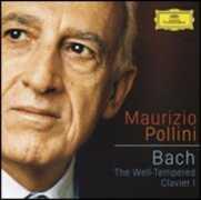 CD Il clavicembalo ben temperato vol.1 (Das Wohltemperierte Clavier teil 1) Johann Sebastian Bach Maurizio Pollini