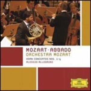 CD Concerti per corno n.1, n.2, n.3, n.4 di Wolfgang Amadeus Mozart