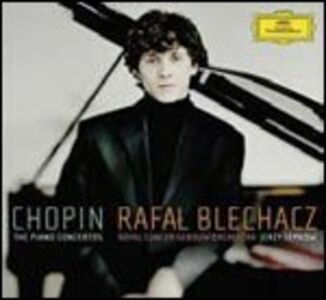CD Concerti per pianoforte n.1, n.2 di Fryderyk Franciszek Chopin