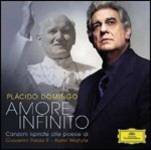 CD Amore infinito. Canzoni ispirate alle poesie di Giovanni Paolo II - Karol Wojtyla