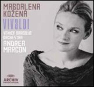Arie da opere e da oratori - CD Audio di Antonio Vivaldi,Magdalena Kozena,Venice Baroque Orchestra,Andrea Marcon
