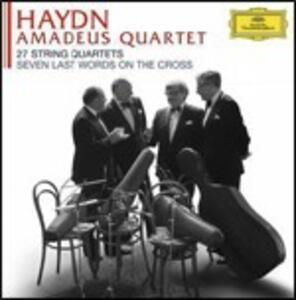 27 Quartetti - Le ultime sette parole di Cristo - CD Audio di Franz Joseph Haydn,Amadeus Quartet