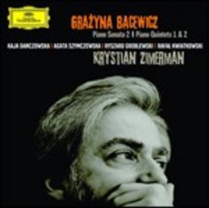 CD Sonata per pianoforte n.2 - Quintetti con pianoforte n.1, n.2 di Grazyna Bacewicz