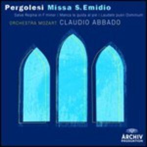 CD Missa S. Emidio - Salve Regina - Manca la guida al piè - Laudate pueri Dominum di Giovanni Battista Pergolesi