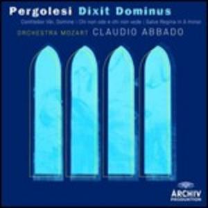 CD Dixit Dominus - Confitebor - Tibi Domine - Chi non ode e chi non vede - Salve Regina di Giovanni Battista Pergolesi