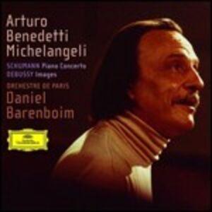CD Concerto per pianoforte / Images Claude Debussy , Robert Schumann