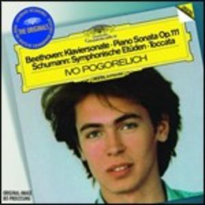 CD Sonata per pianoforte n.32 / Toccata - Studi sinfonici / Notturno n.2 - Studi n.6, n.8, n.10 Ludwig van Beethoven , Fryderyk Franciszek Chopin , Robert Schumann