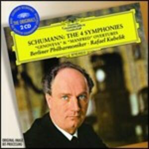 Sinfonie complete - CD Audio di Robert Schumann,Rafael Kubelik,Berliner Philharmoniker