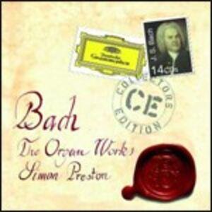 CD Musica per organo di Johann Sebastian Bach