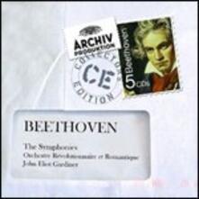 Sinfonie complete - CD Audio di Ludwig van Beethoven,John Eliot Gardiner,Orchestre Révolutionnaire et Romantique