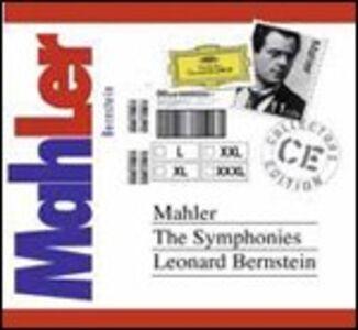 Foto Cover di Sinfonie complete, CD di Leonard Bernstein,Gustav Mahler, prodotto da Deutsche Grammophon