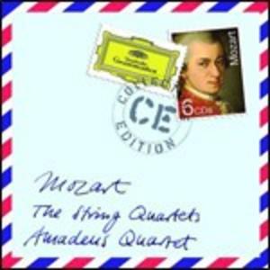 CD Quartetti completi di Wolfgang Amadeus Mozart